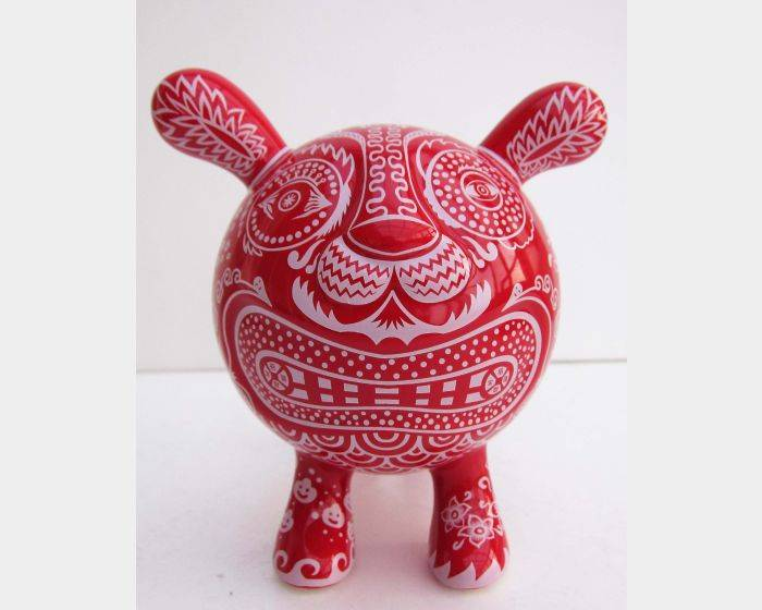 陶瓷小福虎