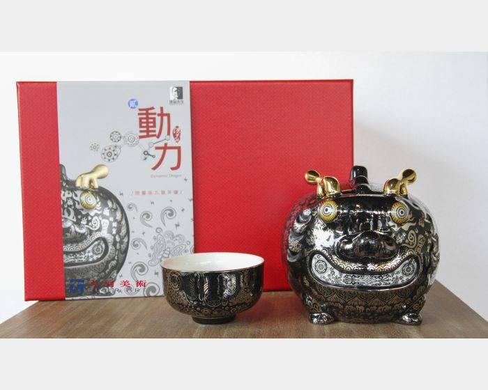 洪易-九龍茶罐-動力龍(精裝版)