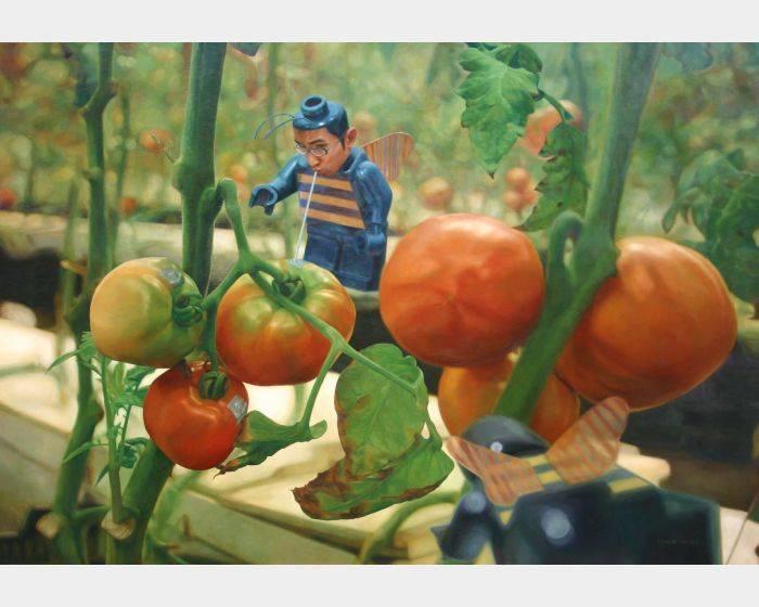 楊博堯  YANG BO-YAO-番茄園 3  Tomato Garden 3