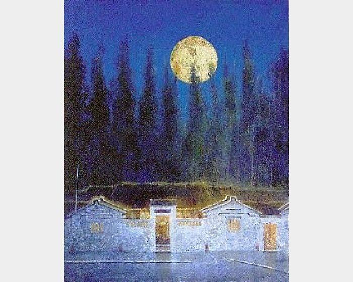 高永隆-月夜  53.5x 65cm  2000