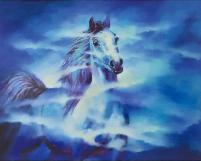 馬東民-藍馬之十二