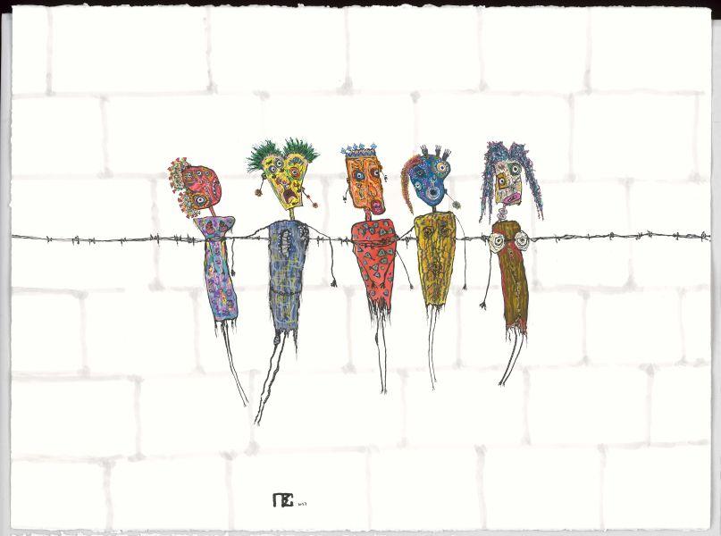 皮耶‧蘇夫雷-五個犯人