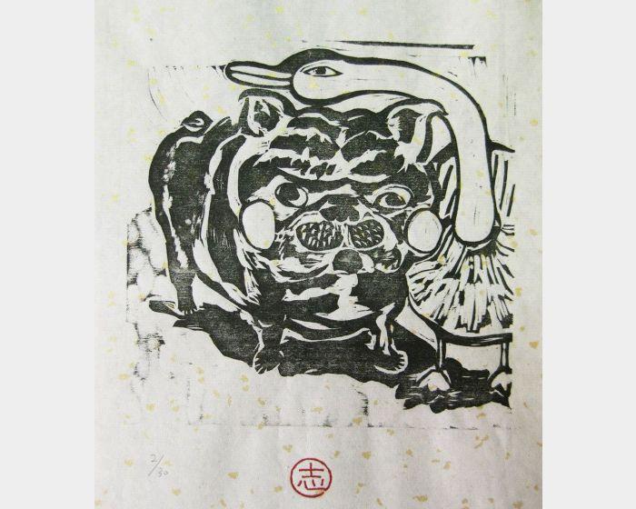 徐睿志-茱莉亞與鵝。2/30