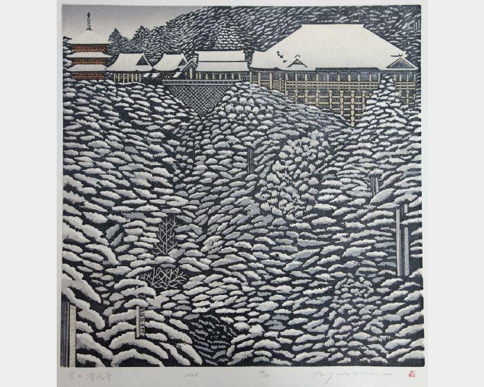 森村玲-雪之清水寺-34/65  Kiyomizu-dera in snow-34/65