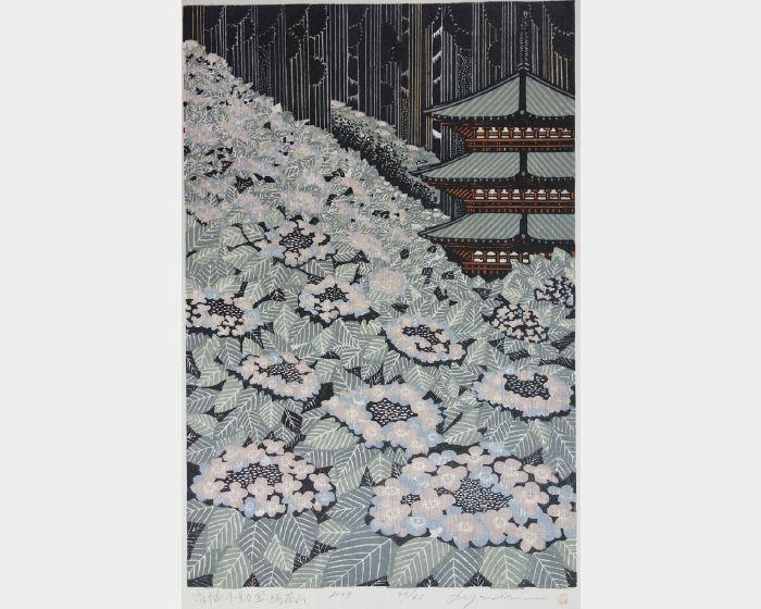 森村玲-高幡不動紫陽花山-44/65  Takahata Fudo Hydrangea-44/65