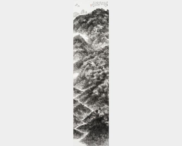 趙宇脩-寫大悲光佛瑜伽行處圖