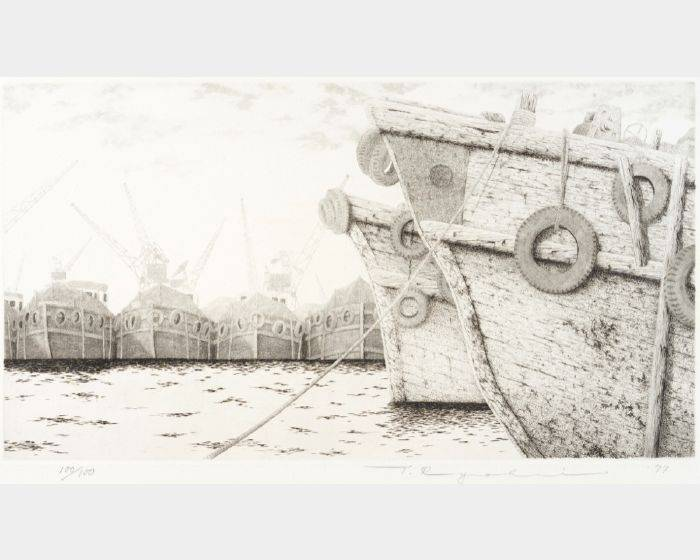 田中良平-190 停船碼頭 #1