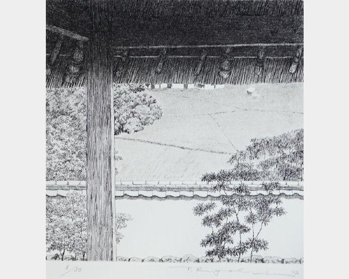 田中良平-765 從田舍遠望-6/50