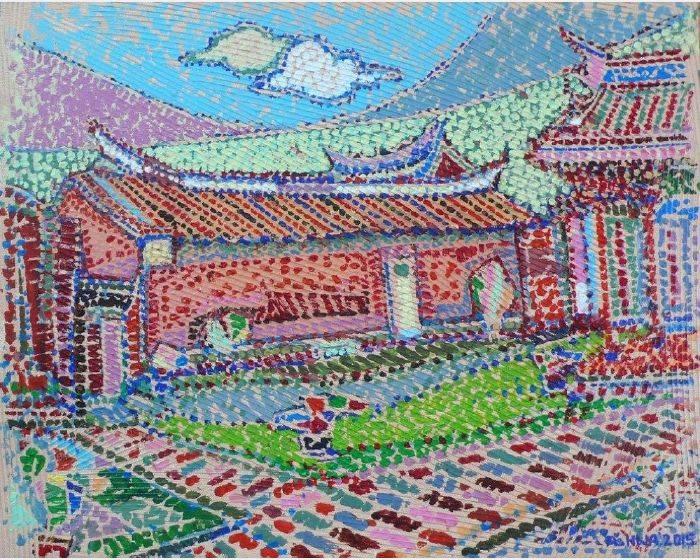 鍾奕華-台南孔廟