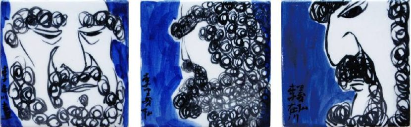 李義弘-達摩造像群1