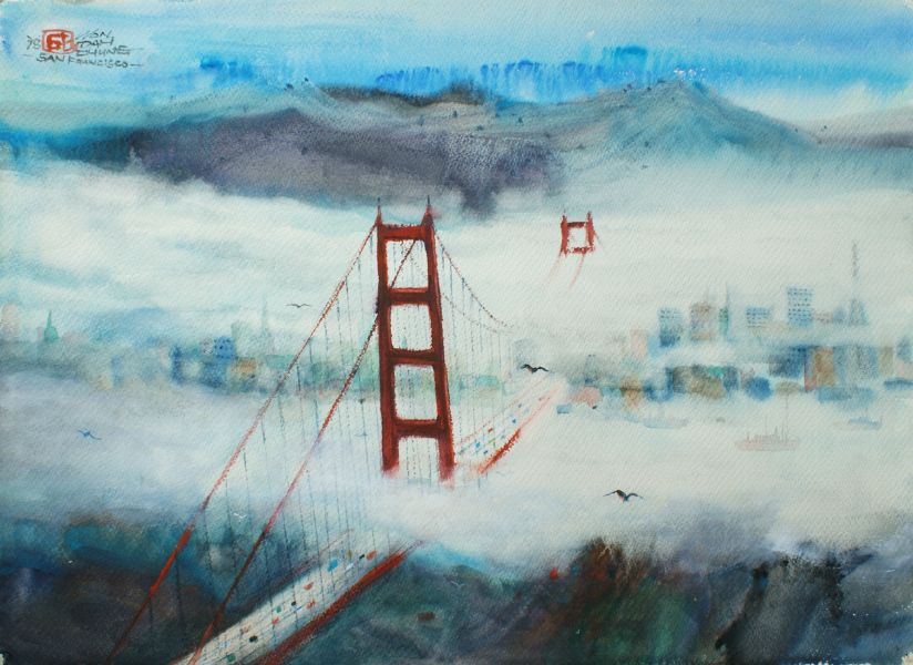 翁大成-舊金山金門大橋