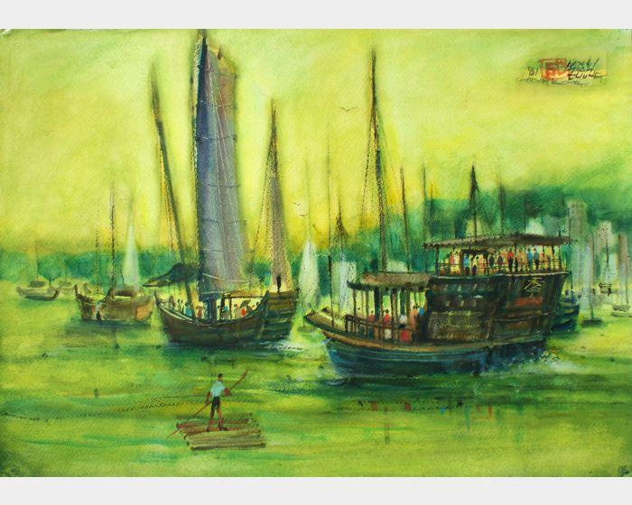 翁大成-香山渡船