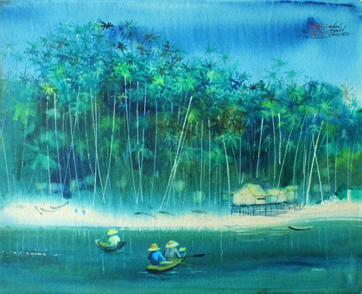 翁大成-泰國小村落