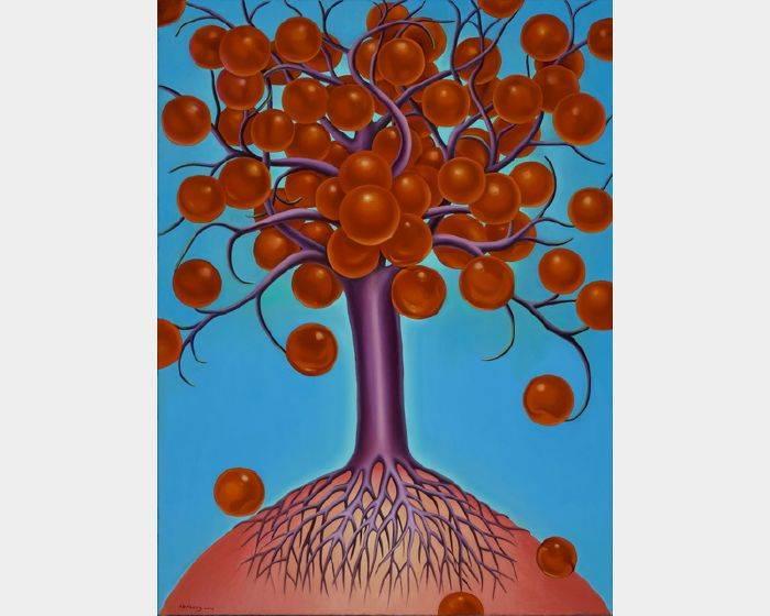 張瑞頻-八寶樹之一 Bubble Tree 1