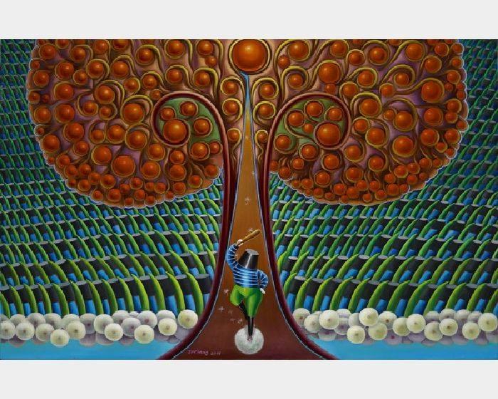 張瑞頻-八寶樹之二 Bubble Tree 2