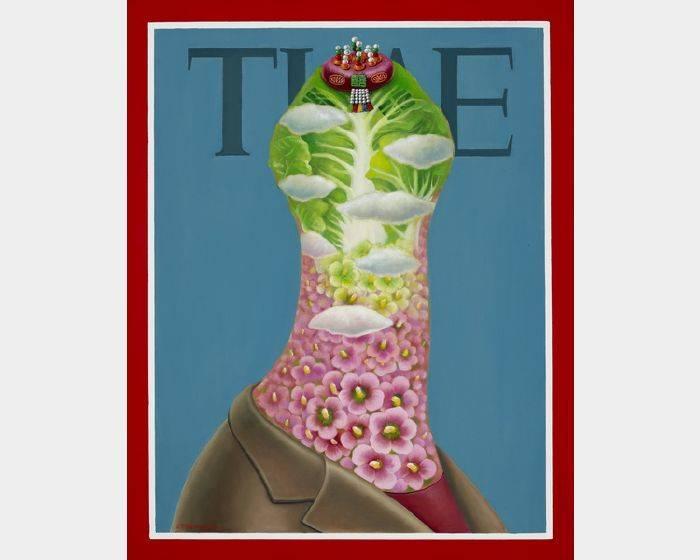 張瑞頻-時代夫人TIME系列之四 TIME Lady 4