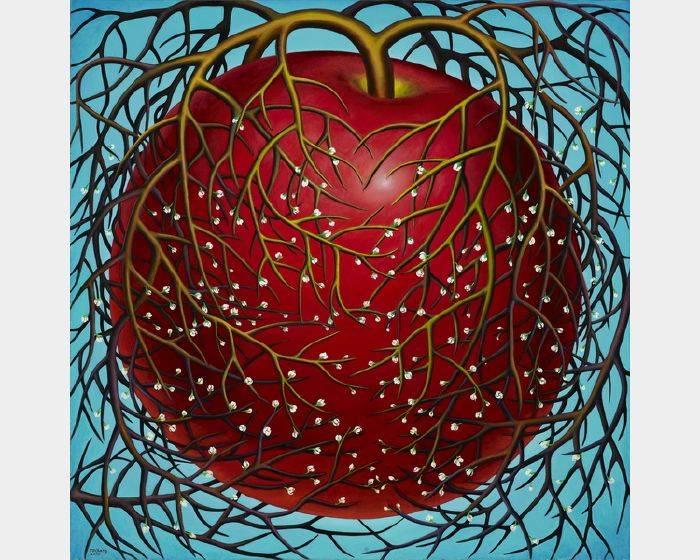 張瑞頻-蘋果之四 Apple 4