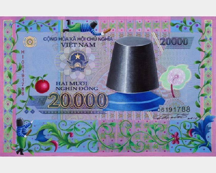 張瑞頻-越南盾20000元  Vietnam's 20000 VND