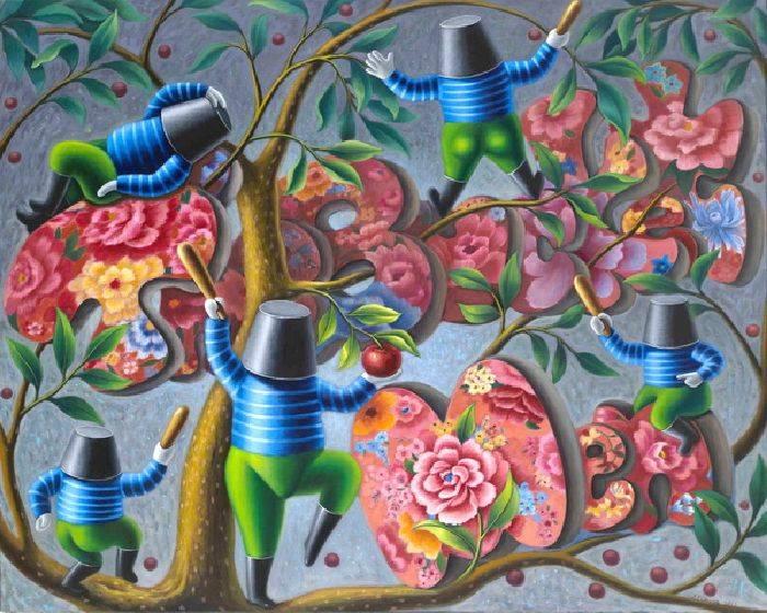 張瑞頻-攀上蘋果樹    Climb the Apple Tree
