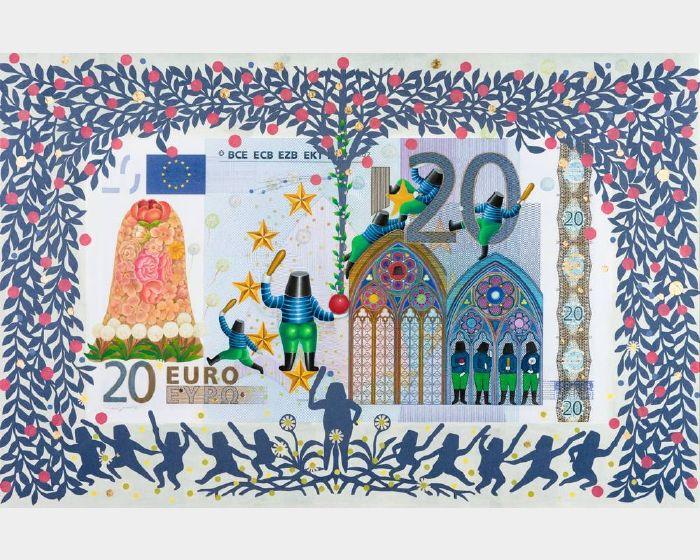 張瑞頻-歐元20  20 EURO
