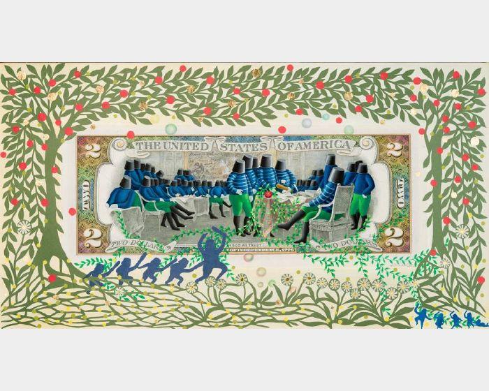 張瑞頻-美金2元  USD 2