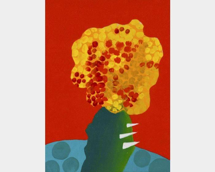 周蘭惠- 紅 仙人掌