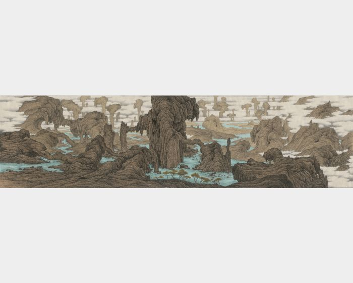 鄧卜君-恒古長水境