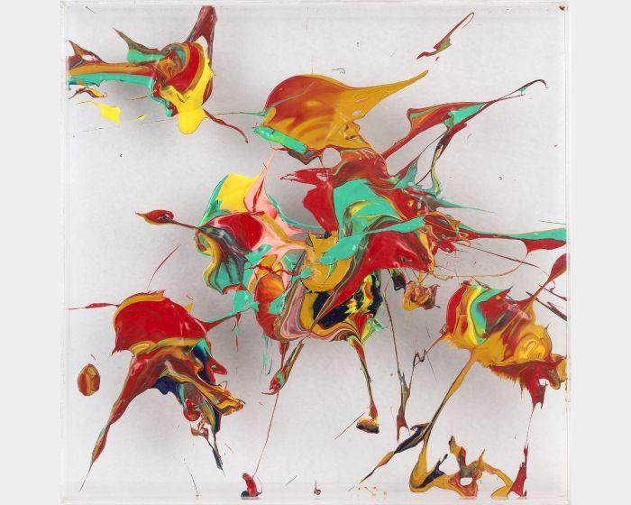 盧征遠-無題2 Untitled-2 (40x40cm)
