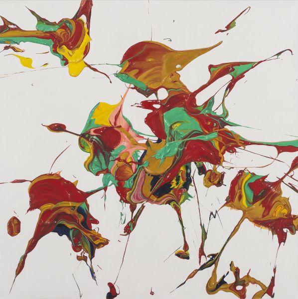 盧征遠-無題2 Untitled-2(100x100cm)