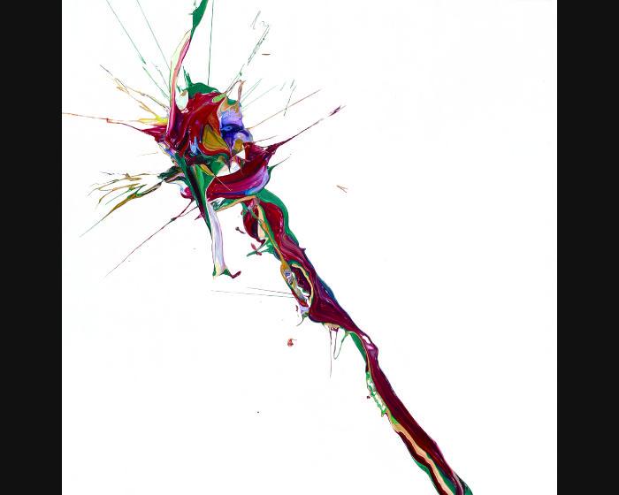 盧征遠-無題7  Untitled-7(100x100cm )