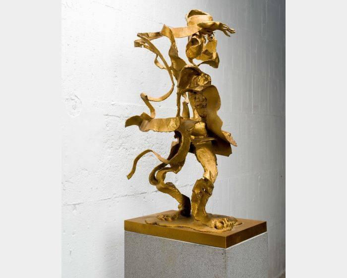 李光裕-千里眼 Clairvoyance 64x45x112cm,Bronze,2016