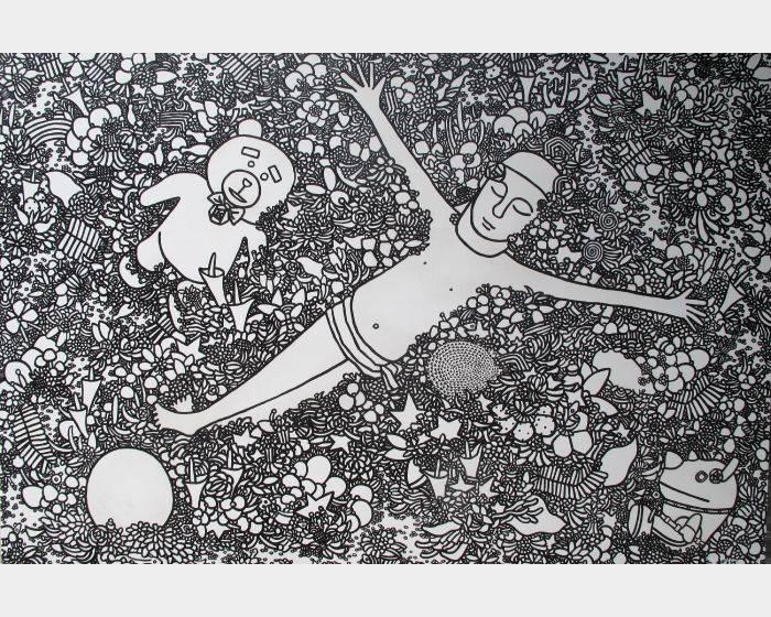 呂英菖-躺在夏天的花園裡