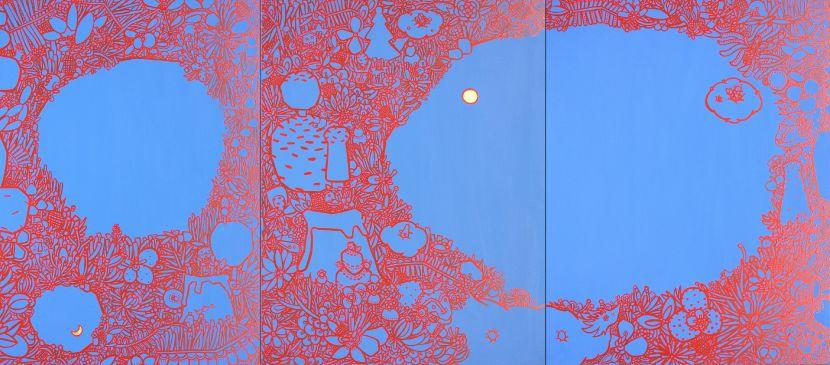 呂英菖-天空下的花園