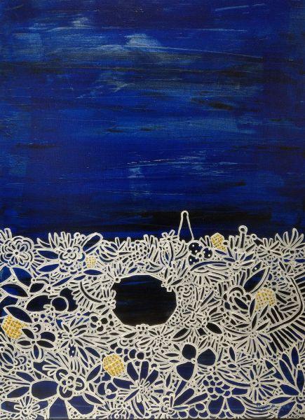 呂英菖-花園裡的月光