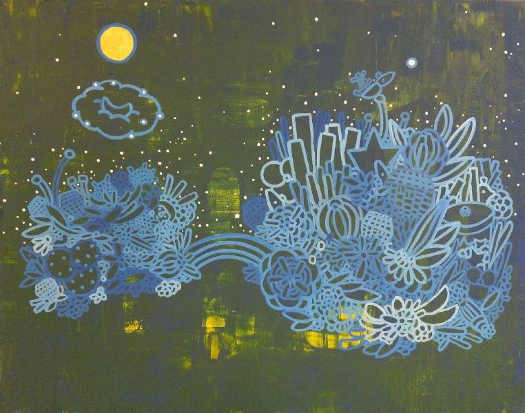 呂英菖-夢裡的寶石花園