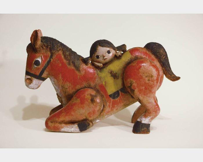 唐壽南-小紅馬