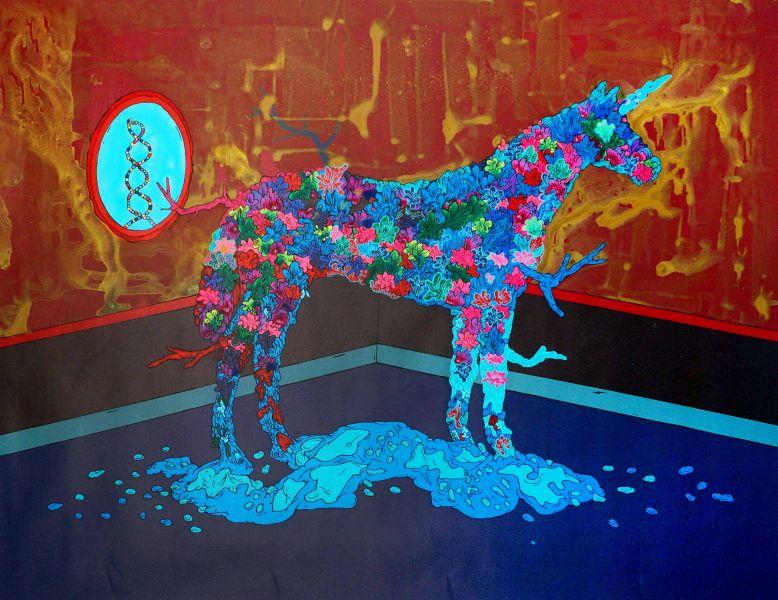張騰遠-超有機植物-獨角馬