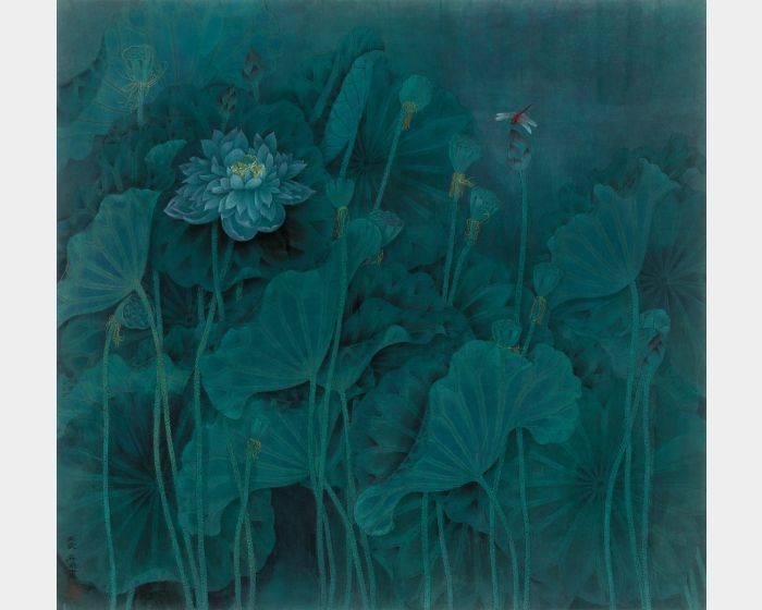 趙秀煥-綠霧