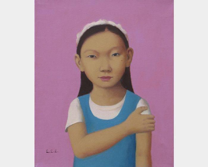 d-20穿藍背心的小女孩