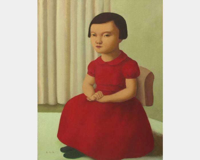 d-15紅洋裝