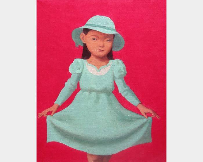 d-05 拉裙子的女孩