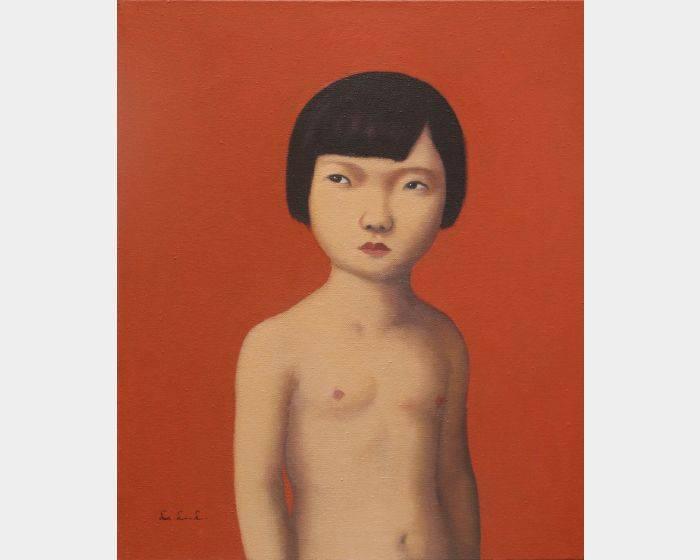 d-07 裸上身的小女孩