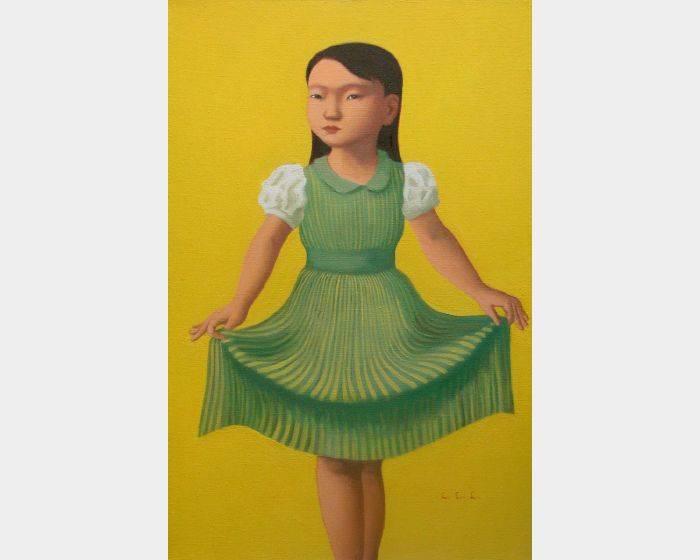 d-04 拉裙子的女孩