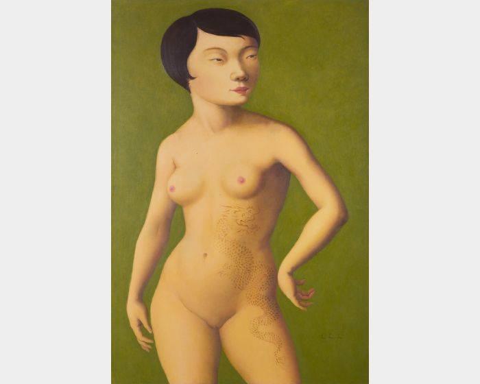 15 龍刺青裸女