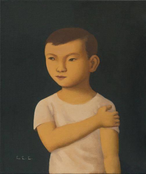 林麗玲-手抱左肩的男孩