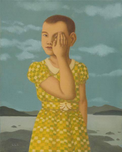 林麗玲-遮住左眼的女孩