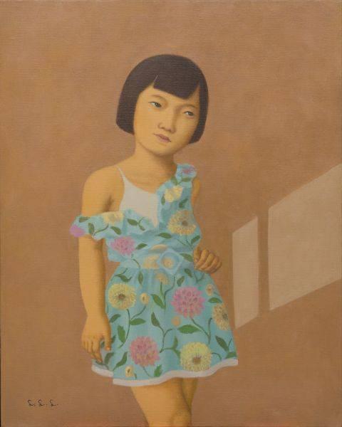 林麗玲-裸右肩的小女孩
