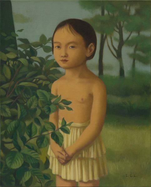 林麗玲-裸上身的小女孩