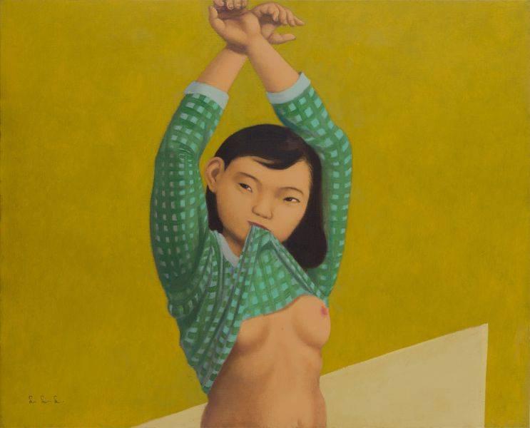 林麗玲-舉雙手的女孩