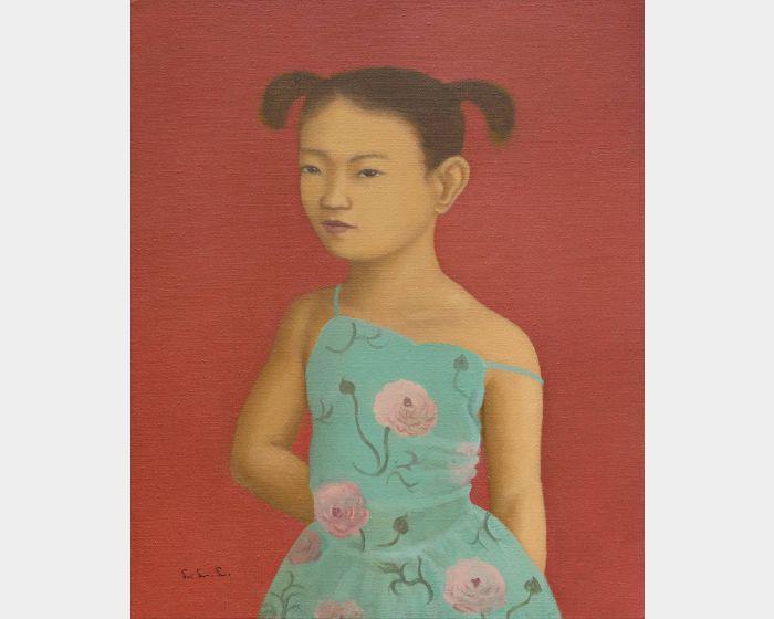 林麗玲-露肩膀的小女孩